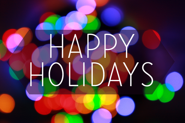 ORO's Holiday Hours