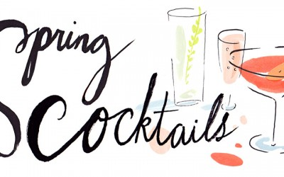 Spring Cocktails Have Sprung!