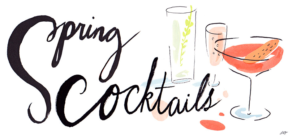 Spring Cocktails Have Sprung!